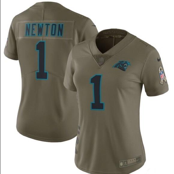 a76c13679 Nike Tops | Carolina Panthers Salute Jersey Cam Newton 1 | Poshmark